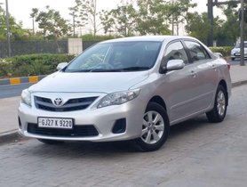 Used 2012 Toyota Corolla Altis MT for sale in Ahmedabad