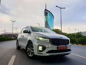 Check Out Kia Carnival In Our 0-60, 0-100 and 0-140 kmph Acceleration Tests