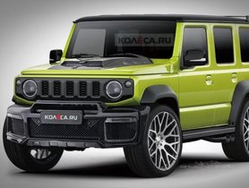5-Door Suzuki Jimny Sierra Imagined Digitally