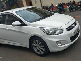Used Hyundai Verna 1.6 CRDi SX 2014 MT for sale in Visakhapatnam