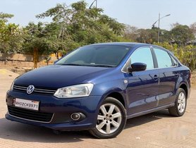 Used Volkswagen Vento 2012 AT for sale in Thane