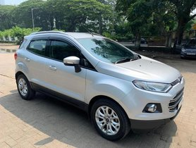 2016 Ford EcoSport 1.5 Petrol Titanium MT for sale in Mumbai