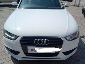 Used 2013 Audi A4 2.0 TDI AT for sale in Chandigarh