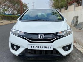Used Honda Jazz V 2015 MT for sale in Hyderabad