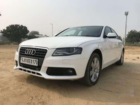 Used 2010 Audi A4 2.0 TFSI AT for sale in Ahmedabad