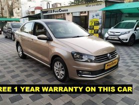2016 Volkswagen Vento 1.5 TDI Highline AT for sale in Surat