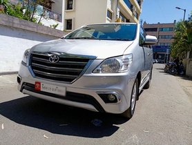 2014 Toyota Innova 2.5 VX (Diesel) 7 Seater BS IV MT in Nashik