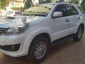 2013 Toyota Fortuner MT for sale in Mumbai