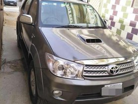Toyota Fortuner 4x2 Manual 2009 MT for sale in Hyderabad