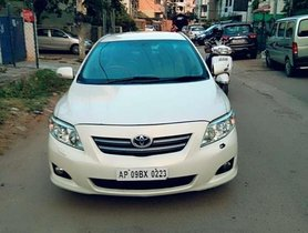 Used 2009 Toyota Corolla Altis VL AT for sale in Hyderabad