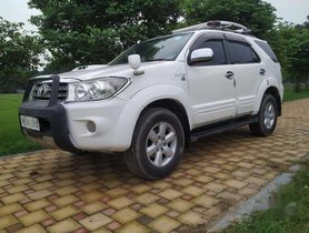 Toyota Fortuner 3.0 4x4 Manual, 2011, Diesel MT for sale in Kolkata