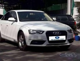 Used Audi A4 2.0 TDI 2013 AT for sale in Tiruppur