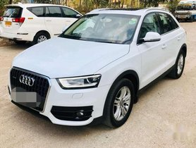 Used 2014 Audi Q3 MT for sale in Hyderabad