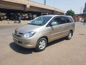 Toyota Innova 2.5 V 8 STR, 2007, Diesel MT for sale in Mumbai