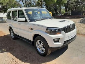 Used 2015 Mahindra Scorpio MT for sale in Nashik