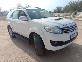 2014 Toyota Fortuner AT for sale in Ahmedabad
