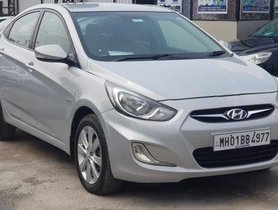 2012 Hyundai Verna CRDi SX ABS MT for sale in Pune