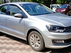 Volkswagen Vento 1.6 Highline 2016 MT for sale in Faridabad