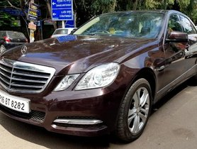 2013 Mercedes-Benz E-Class E250 CDI Blue Efficiency AT in New Delhi