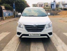 Used Toyota Innova 2.5 GX 8 STR 2015 MT in Ahmedabad