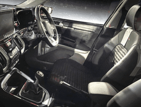 Interior of Kia Sonet Spied, Plenty of Inspiration from Seltos