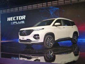 MG Hector Plus (7-seater) Expected To Launch By Year-End