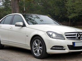 2012 Mercedes Benz C-Class C 220 CDI Elegance AT in New Delhi