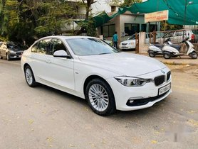 Used 2017 BMW 3 Series 320d Luxury Line AT for sale in Ahmedabad
