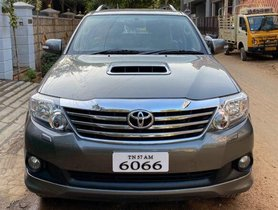 2013 Toyota Fortuner 4x2 4 Speed AT for sale in Madurai