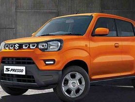 Made In India Maruti S-Presso Reaches Egypt