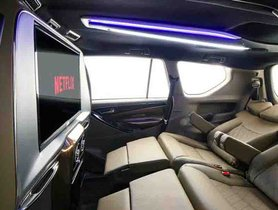 Enjoy Netflix on a Large Screen In This Modified Toyota Innova Crysta By DC2