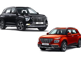 Creta and Venue Propel Hyundai To Top of SUV Sales Chart