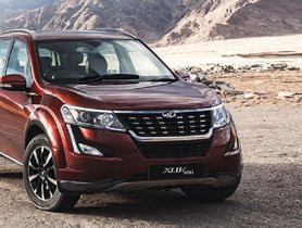 BS6 Mahindra XUV500 Misses Out on Base Variant and All-Wheel Drive System
