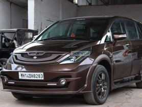 Check Out This Highly Impressive Modified Tata Aria