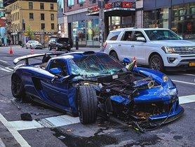Goldrush Rally Founder Causes Serious Accident in a Modified Porsche Carrera GT