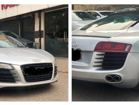 This Audi R8 Supercar Costs Only 10 Lakhs More Than Toyota Fortuner