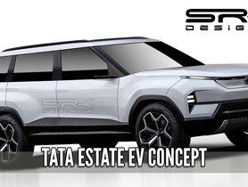 Tata Estate EV Concept Based On the Sierra EV Concept