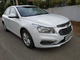Used 2017 Chevrolet Cruze LTZ MT for sale in Coimbatore
