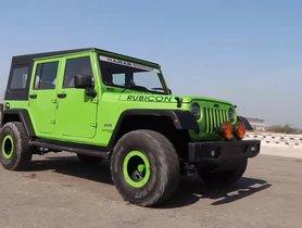 Mahindra Bolero Transformed Into Jeep Wrangler Rubicon [Video]