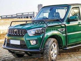 Modified Mahindra Scorpio Pickup by Bimbra 4X4 Looks Dashing