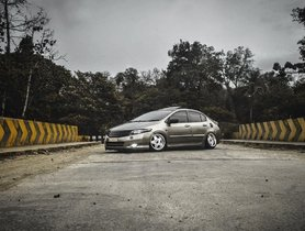This Modified Honda City Is Bagged With Accuair Air Suspension