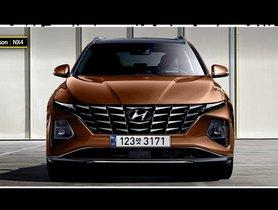 2021 Hyundai Tucson Looks Very Futuristic In Latest Renderings