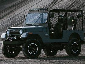 Mahindra Thar-based 2020 Roxor Unveiled