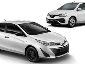 Toyota Yaris Taxi Variant to Become a Premium Altenative to Etios in Fleet Market