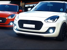 Check Out These Tastefully Modified Maruti Swift Twins - Video