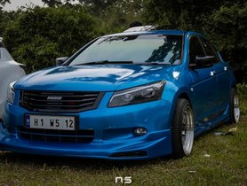 Check out Blue Bee- A Modified Honda Accord With Mugen Body Kit