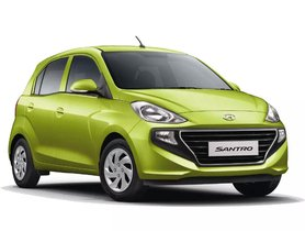 BS6 Hyundai Santro CNG Launched, Costlier by up to Rs 62,000