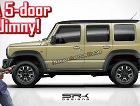 Maruti Jimny Looks Better with 5 Door Layout than 3