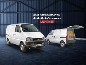 BS6 Maruti Eeco Cargo CNG Specifications Unveiled