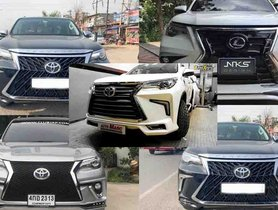 5 Modified Toyota Fortuner SUVs That Look Like Lexus